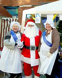 Santa at Wokingham Winter Carnival